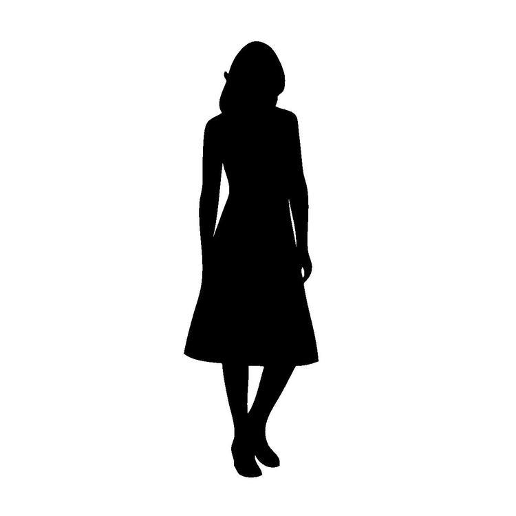 シルエットAC-女性