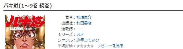 DMMコミックレンタル-バキ道
